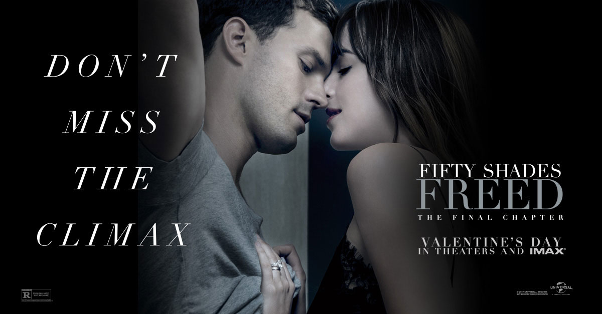 Fifty Shades Freed Poster Tied Up In Controversy