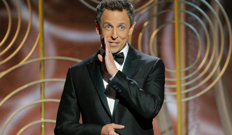 Seth Meyers Joked His Way Into 'Times Up' Movement At The Golden Globes