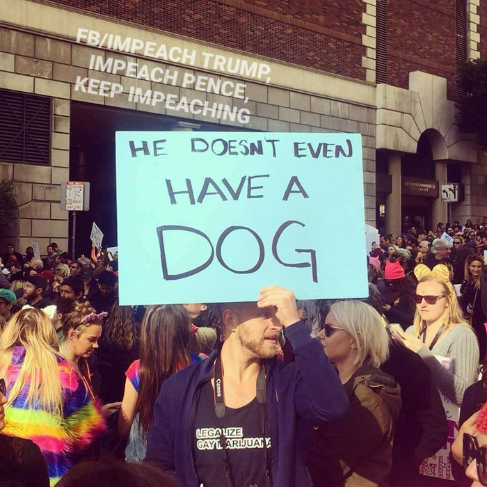 The 16 Most Eye-Catching Signs From The Women's March