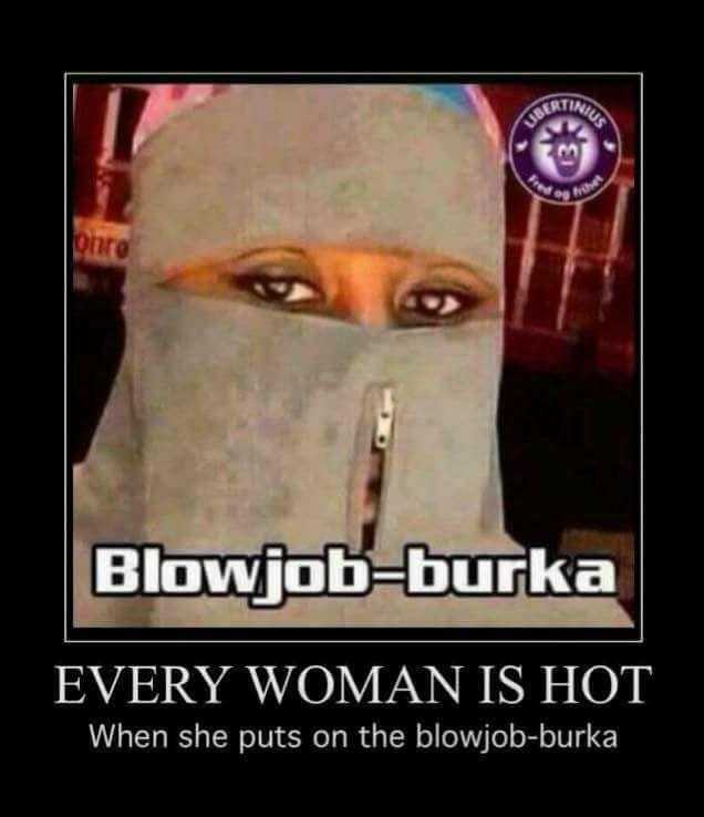 Boerka blowjob
