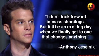 Anthony Jeselnik on Mass Shootings