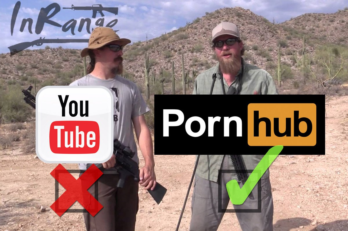 Gun Vloggers Shoot Over To Pornhub After YouTube Crackdown