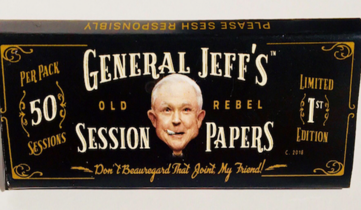Jeff Sessions Rolling Papers Let You Get High With The Attorney General