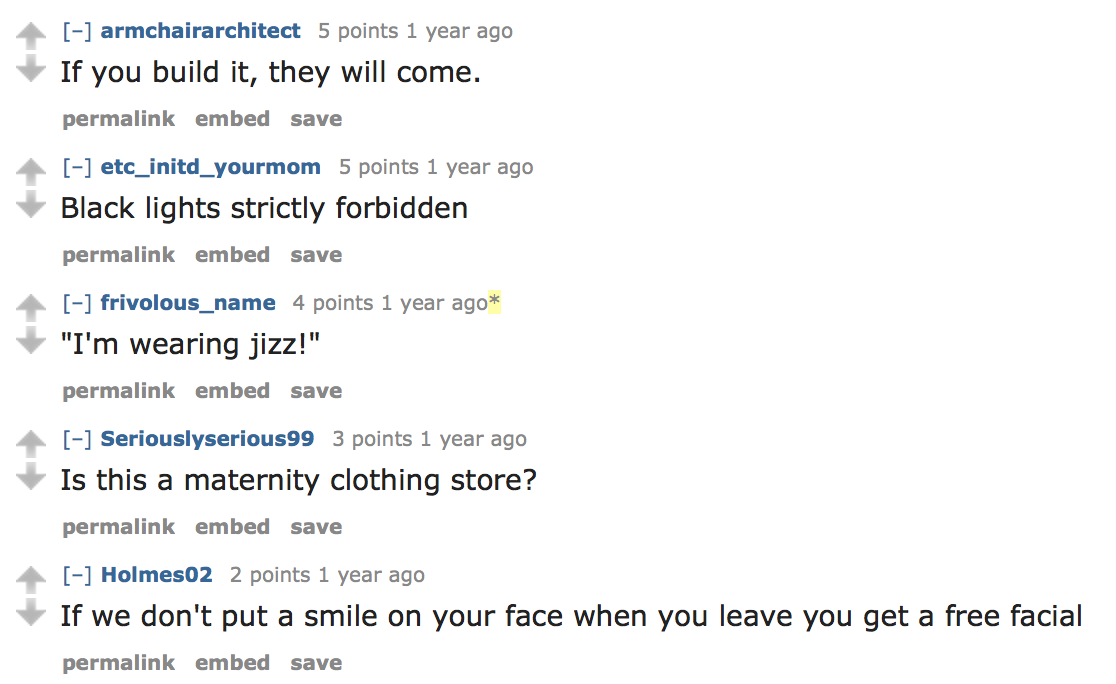 """Jizz Fashion"" Store Leaves The Internet With Loads Of Jokes"