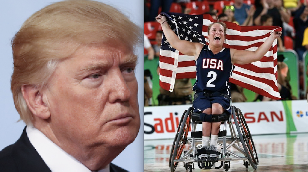 """It's A Little Tough To Watch Too Much"" - President Donald Trump on The Paralympics"