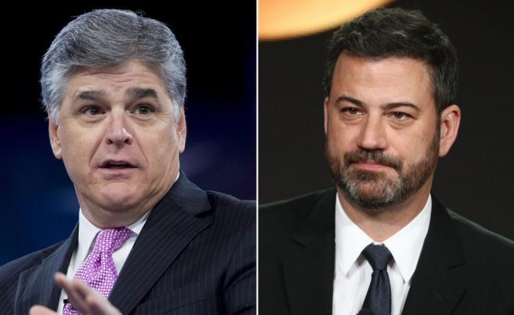 Jimmy Kimmel and Sean Hannity Go Blow For Blow Over Melania Trump Joke