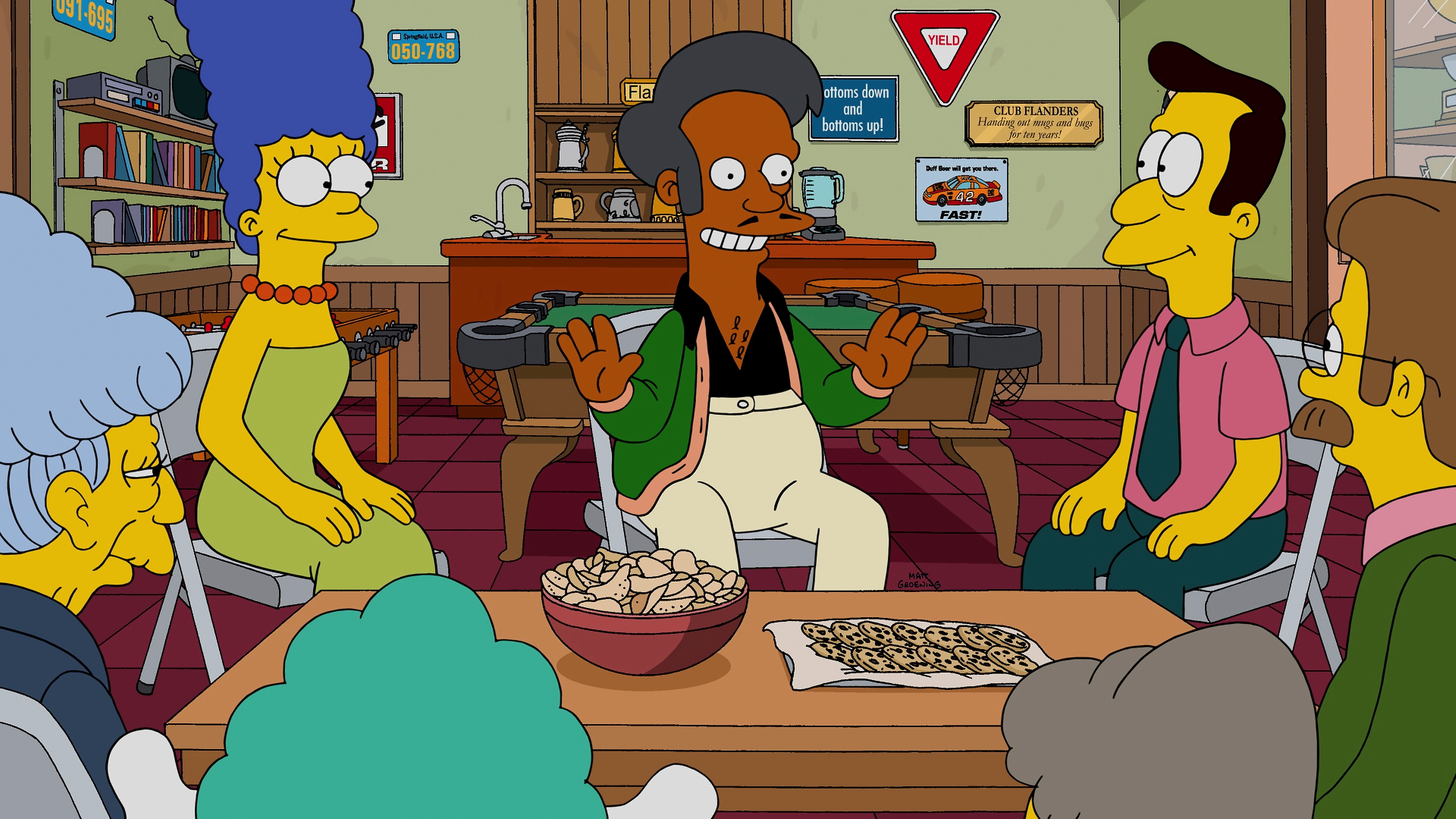 Audience Not Laughing At The Simpsons' Response To 'The Problem With Apu'