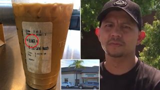 Latino Starbucks Customer Receives 'Beaner' Cup