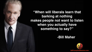 Bill Maher on Liberals Getting Easily Offended