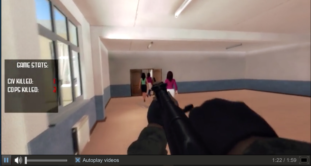 Active Shooter' Video Game Causes Uproar Among Parents of