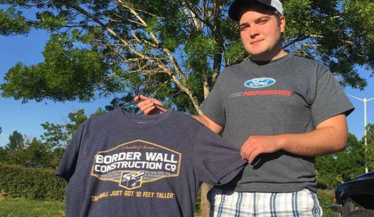 Border Wall T-shirt Wearing Student Sues School Following Suspension