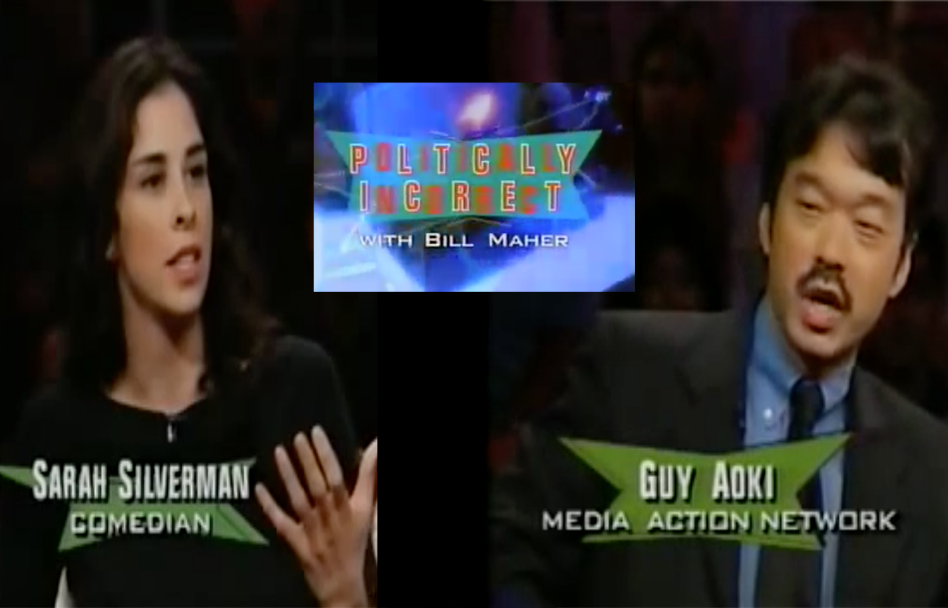 Sarah Silverman and Guy Aoki Spar Over 2001 'Chink' Joke
