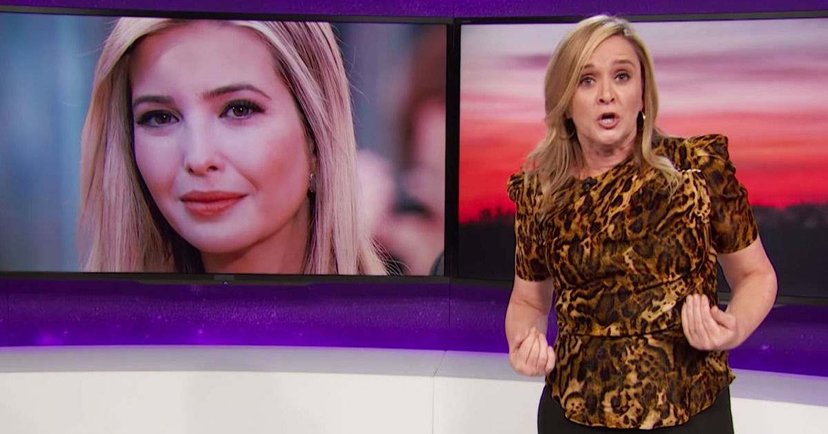 Samantha Bee Slammed For Calling Ivanka Trump a 'Feckless C**t'