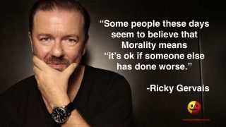 Ricky Gervais on Morality