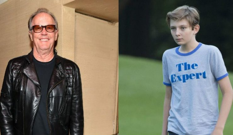Peter Fonda Apologizes For 'Inappropriate and Vulgar' Barron Trump Tweet