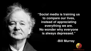 Bill Murray on Social Media