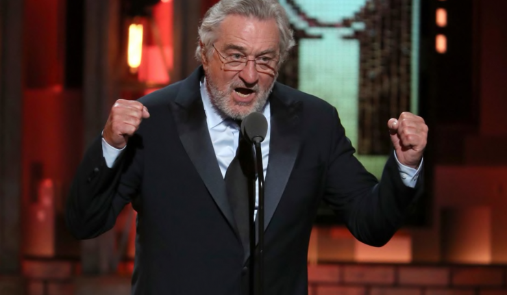 "Robert De Niro Gets Bleeped At The Tony Awards: ""F**k Trump"""