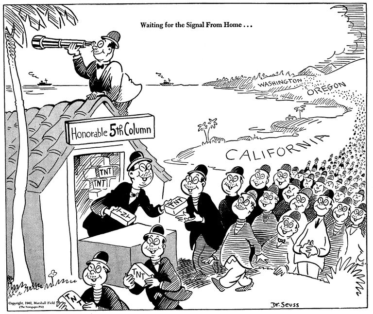 The Early Political Cartoons of Dr. Seuss