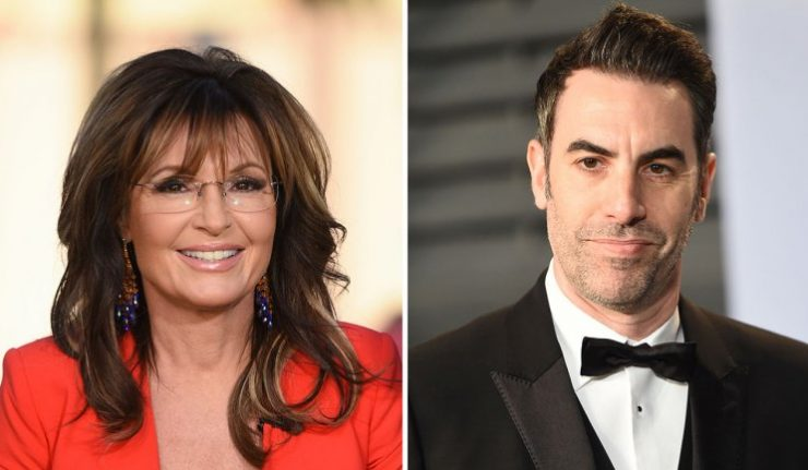 Sarah Palin Claims Sacha Baron Cohen 'Duped' Her Into 'Sick' Interview