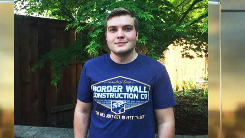 Student Suspended for Trump Border Wall Shirt Gets $25K and Apology