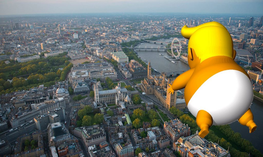 London Mayor Approves 'Trump Baby' Blimp To Fly During POTUS Visit