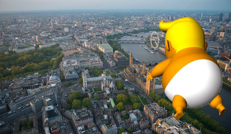 'Trump Baby' Blimp To Fly Over London During POTUS Visit
