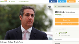 Michael Cohen GoFundMe Raises Over $140,000 In Two Days