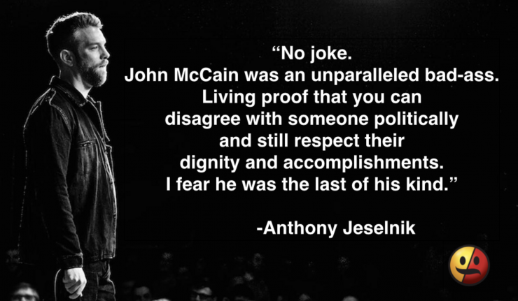 Anthony Jeselnik on John McCain