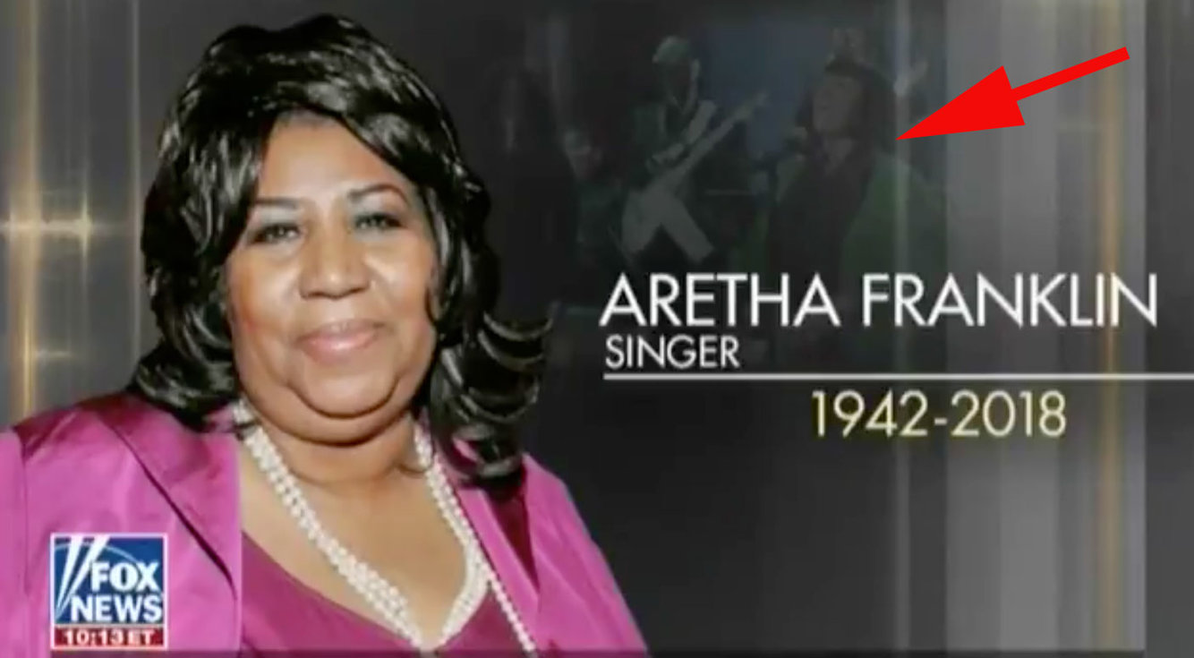 Fox News Uses Patti LaBelle Photo In Aretha Franklin Memorial Segment