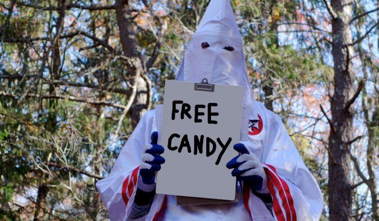 Ku Klux Klan Hopes Candy Will Help Them Recruit Members