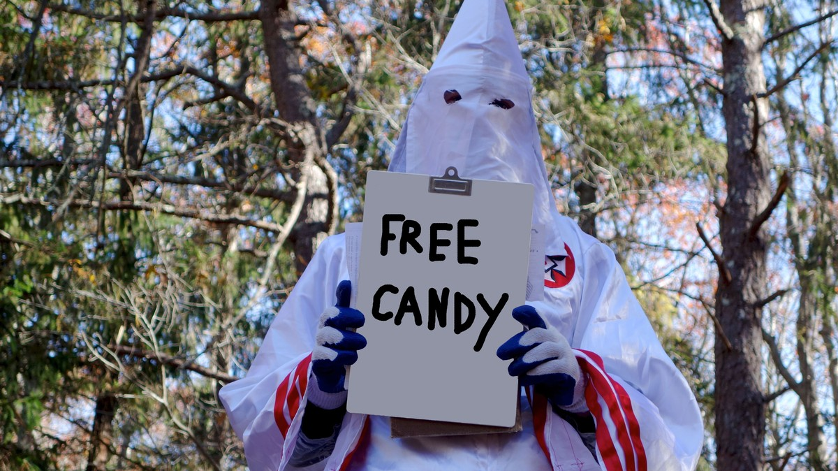 Ku Klux Klan Hopes Candy Will Help Them Recruit Members