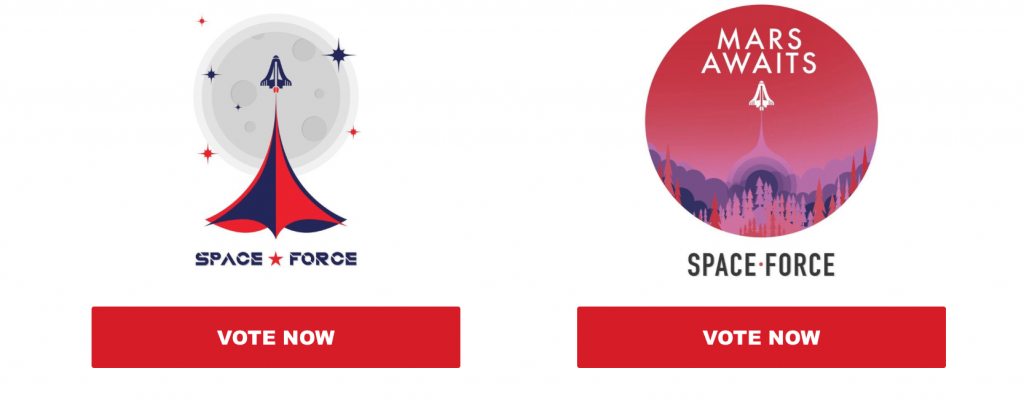 The Trump Campaign Wants To Sell You Space Force Swag