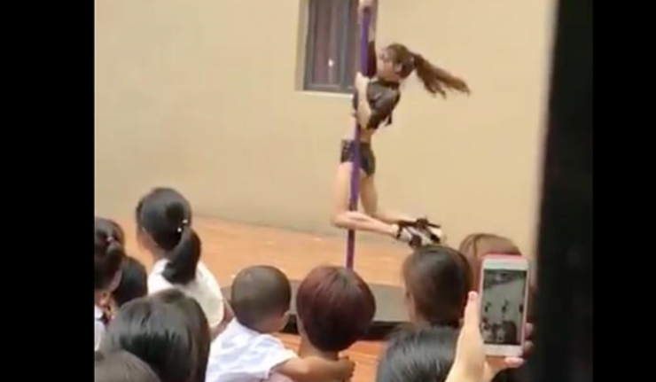 Chinese Kindergarten Principal Fired For Hosting 'Back to School' Pole Dancers