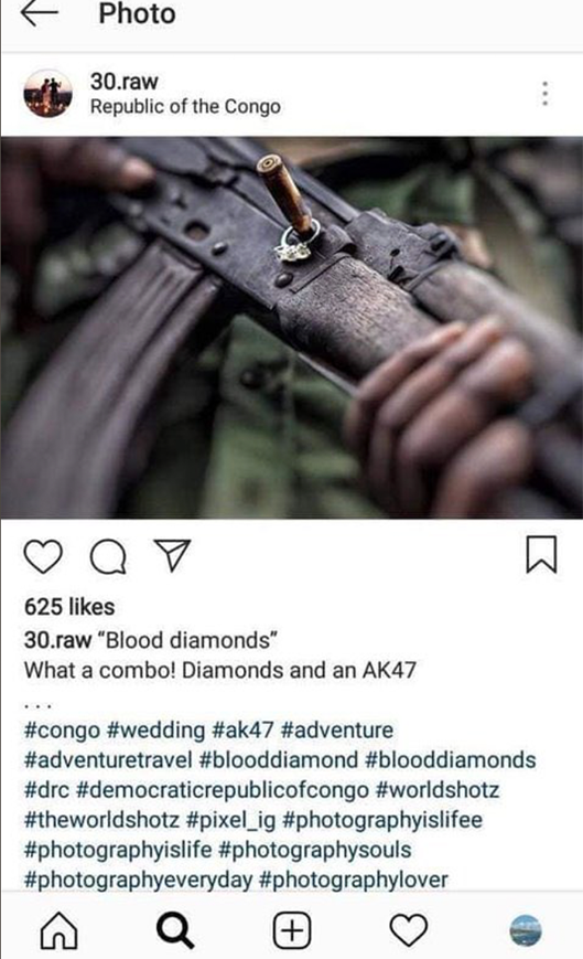 gunpoint Wedding photos Congo