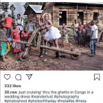 Couple's Gunpoint Wedding Photos in 'Ghetto Congo' Cause Uproar