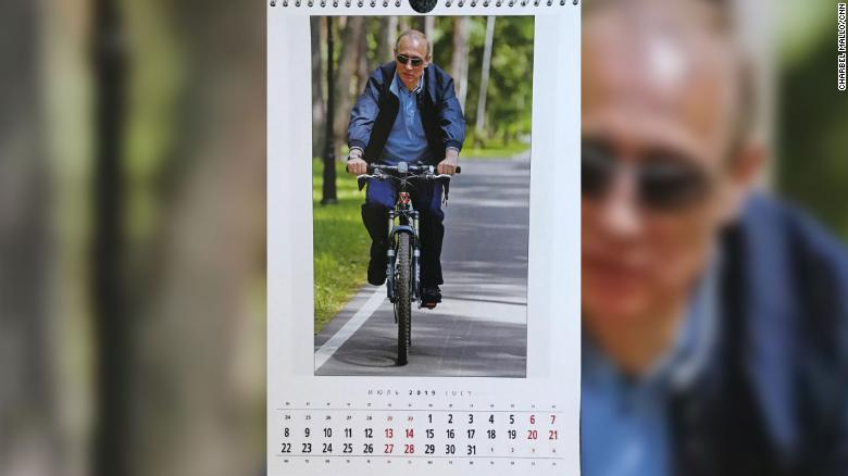 The 2019 Vladimir Putin Calendar Is Here, And, Yes, He's Shirtless Again