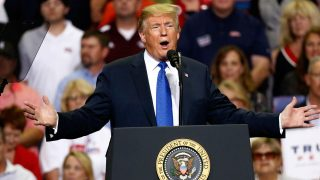 Trump Mocks Dr. Ford's Sexual Assault Testimony During Rally (VIDEO)
