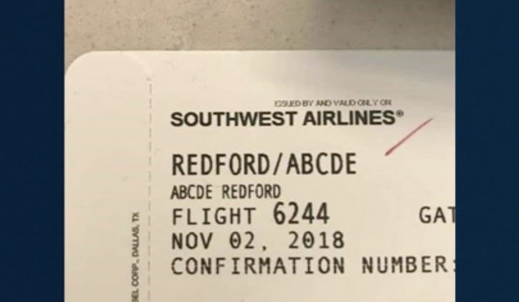 Jokes Fly From Southwest Gate Agent After Reading 5-Year-Old's Name: Abcde