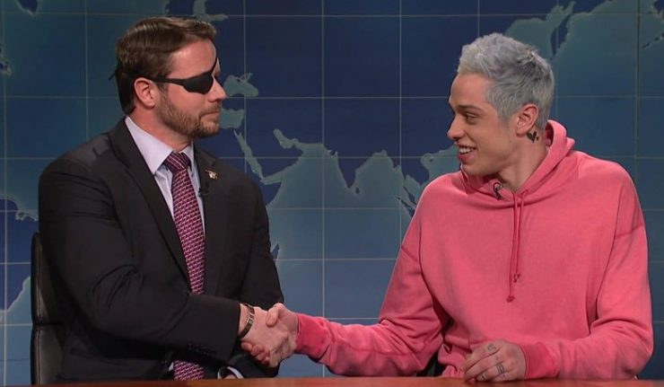 Pete Davidson Brings Veteran Dan Crenshaw To SNL For A Late-Night Apology