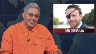 SNL's Pete Davidson Mocks GOP Candidate Who Lost Eye In War