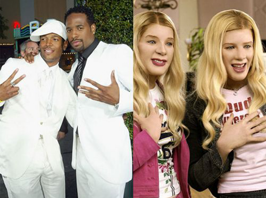 Throwback: Wayans Brothers Wear 'Whiteface' For 'White Chicks'