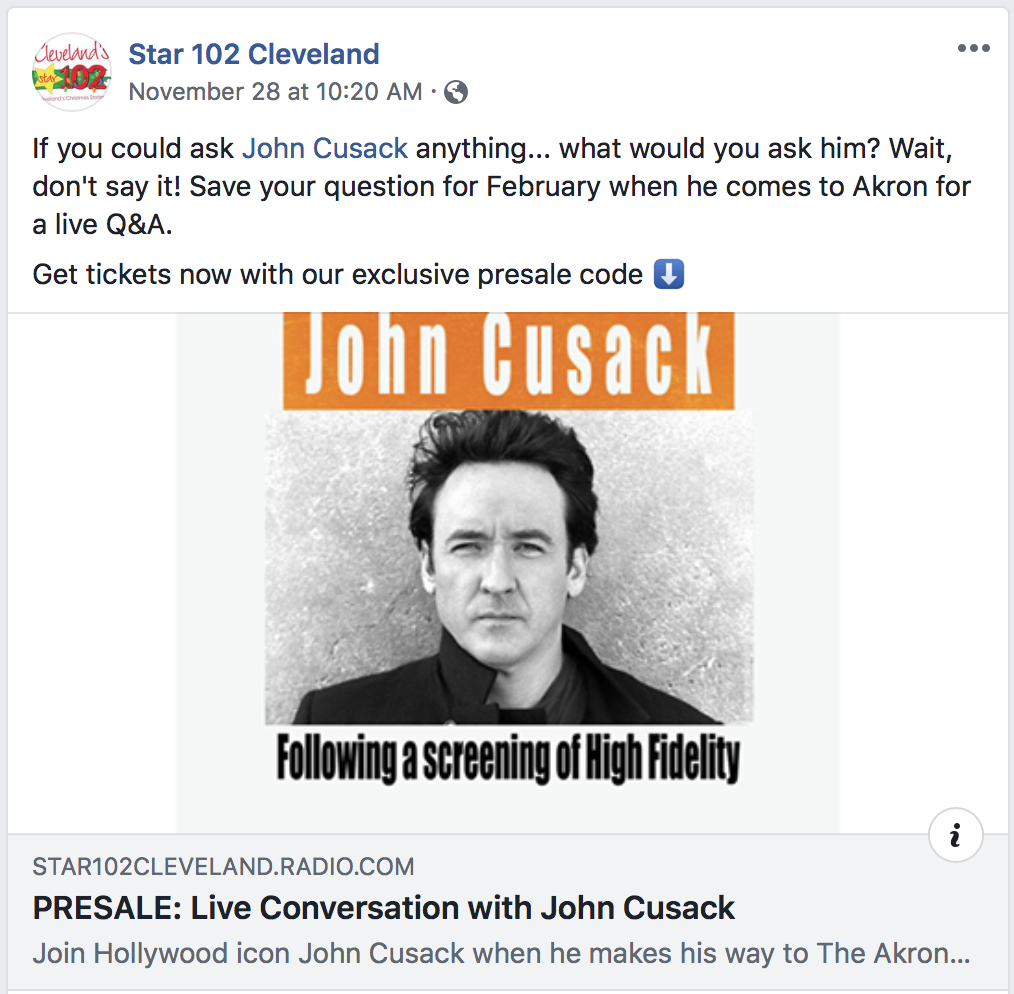 Cleveland Radio Station Bans 'Baby, It's Cold Outside,' Supporting 'Me Too'