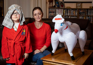 Mom Accidentally Sends Son To Nativity Play With Sheep Sex Doll
