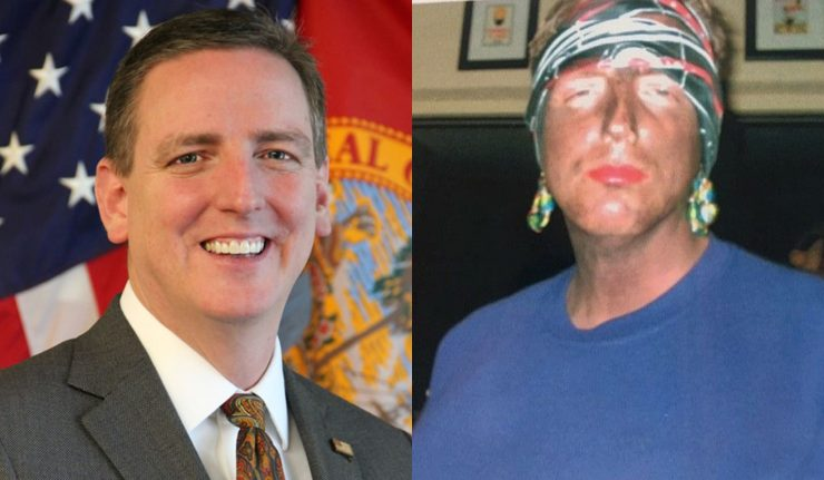FL Secretary of State Mike Ertel Resigns After Blackface Photos Emerge Mocking Katrina Victims