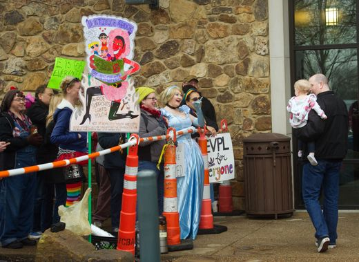 Drag Queen Story Hour Causes Protest, Police Presence At Indiana Library