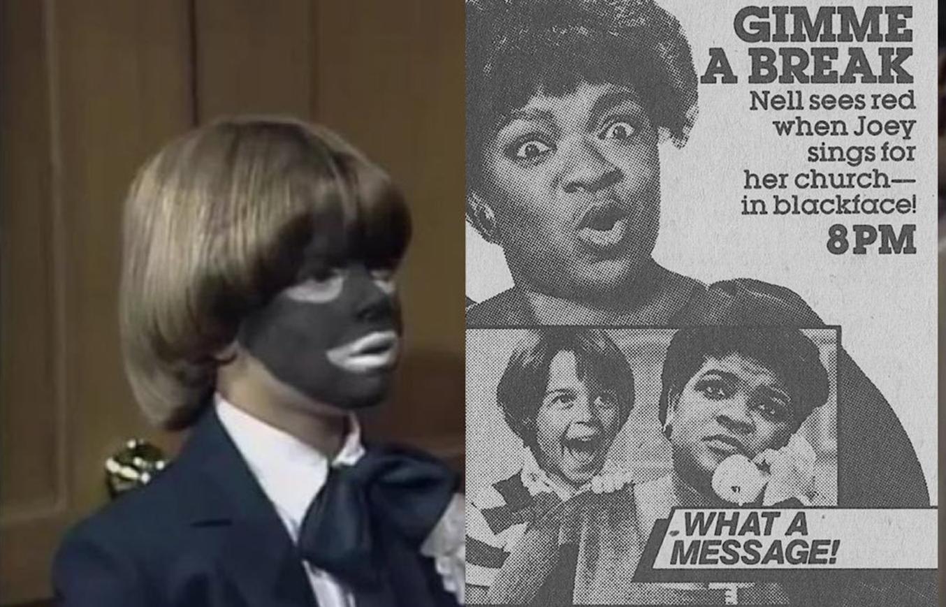 'Gimme a Break!' Tackled Blackface In 1984