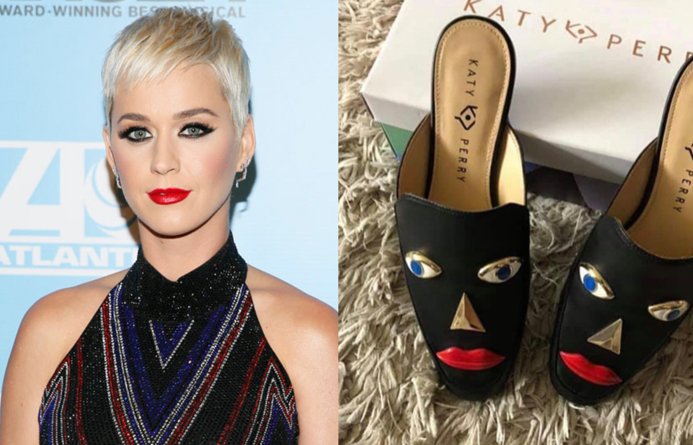 Katy Perry Pulls Shoes Criticized For Blackface Design