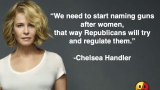 Chelsea Handler on Guns