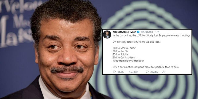 Neil deGrasse Tyson Slammed After Mass Shootings Tweet