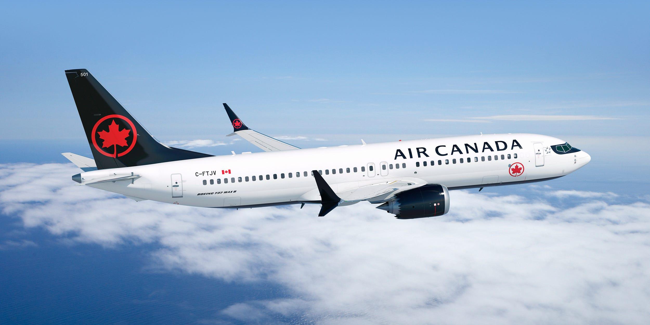 Air Canada gender neutral